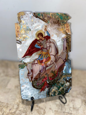 Saint George religious icon