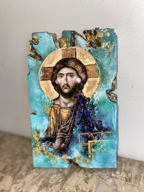 Jesus Christ Religious icon - Original ready to ship