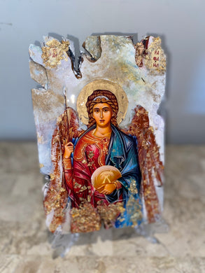 Archangel Raphael Religious Icon - ready to ship