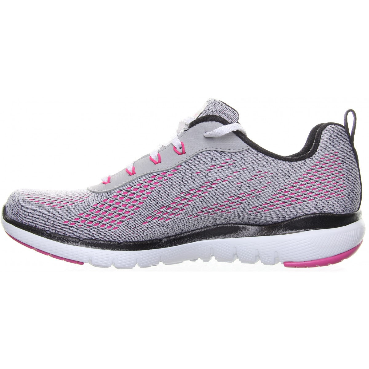 Skechers Grey/Pink
