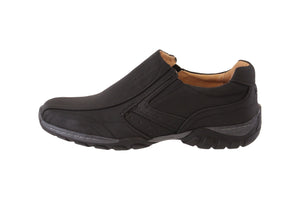 Goor Mens Slip-On - Black