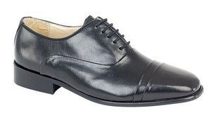 Mens All Leather Shoes Ties
