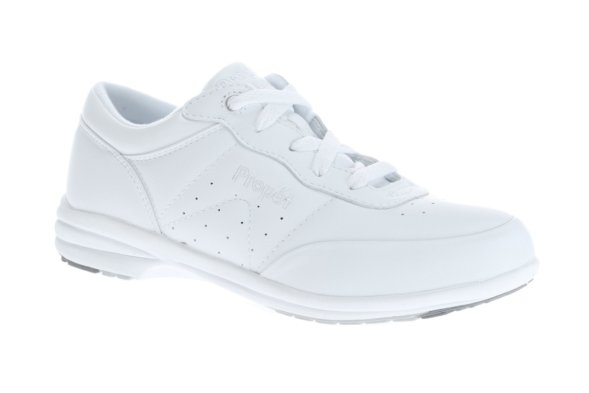 Propet White Walker Shoes - Ladies