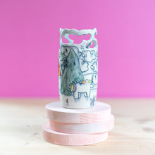 Load image into Gallery viewer, Unicorn : Small Vase #6
