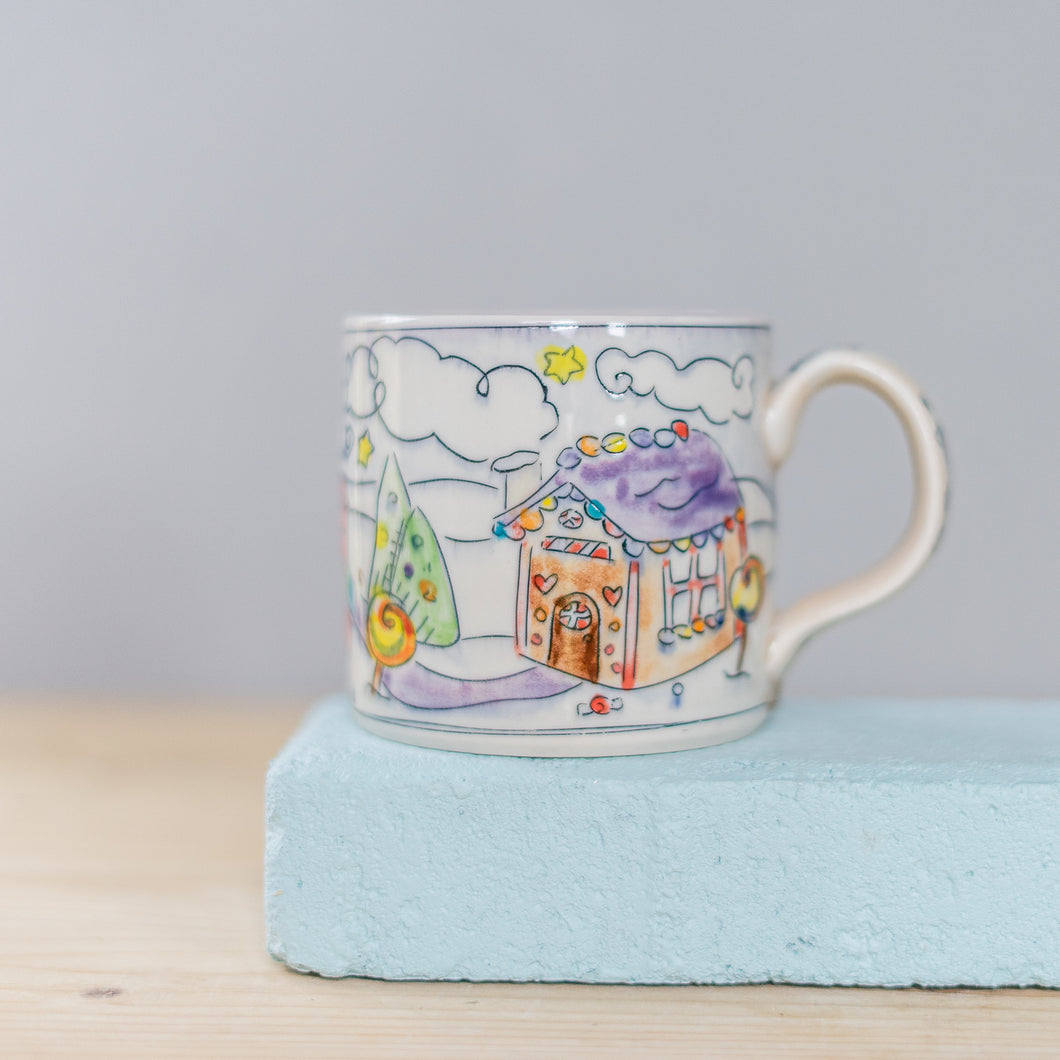 Winter Gingerbread Holiday : Medium Mug #18 #19 #20
