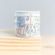 Load image into Gallery viewer, Clothesline : Medium Mug #6
