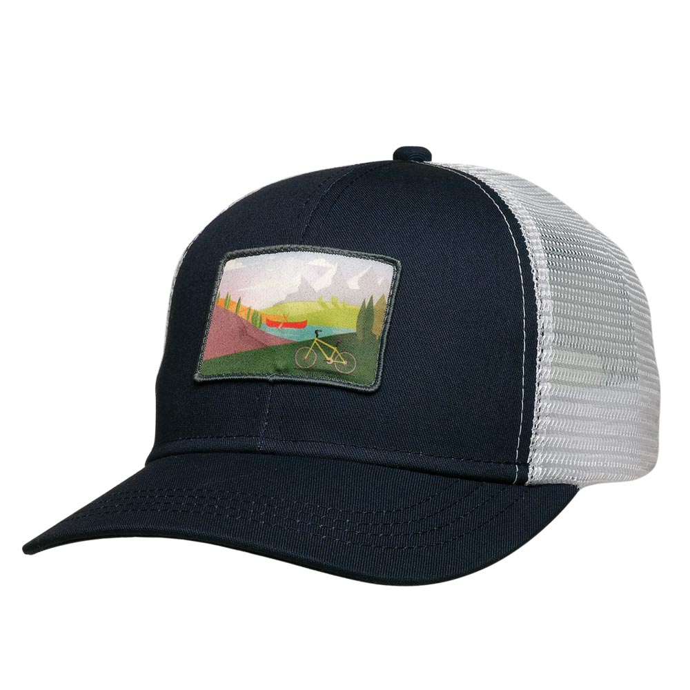 Canoe & Bike Trucker Hat