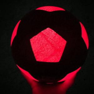 Light Up Your Football and Play Glow in The Dark Soccer