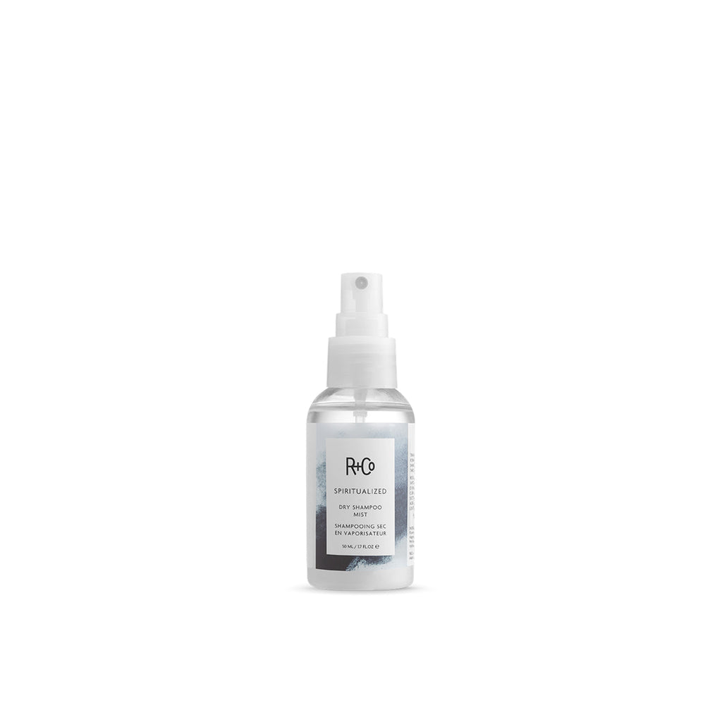R+Co Spiritualized dry shampoo mist travel size