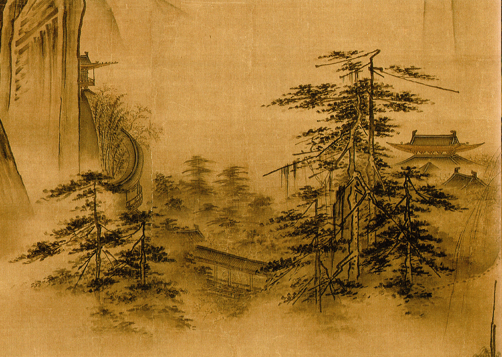 Dancing and Singing Peasants Returning from Work, Chinese Painting by Ma Yuan