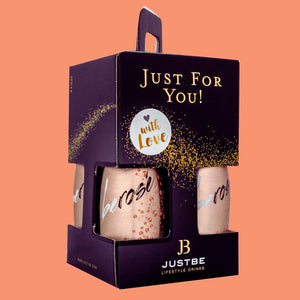 JUSTBE Rosé Geschenkbox - Justbe Wine Drinks