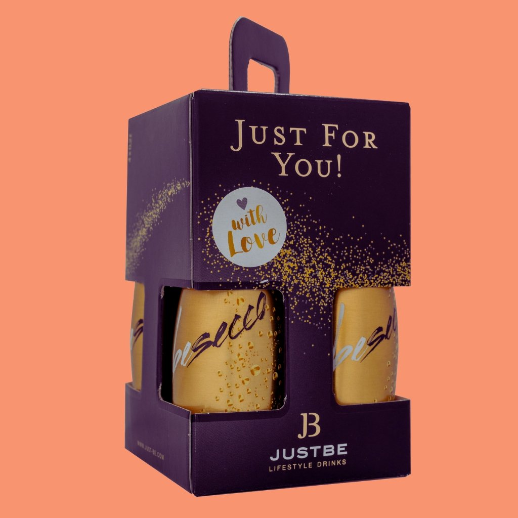 JUSTBE Secco Geschenkbox - Justbe Wine Drinks