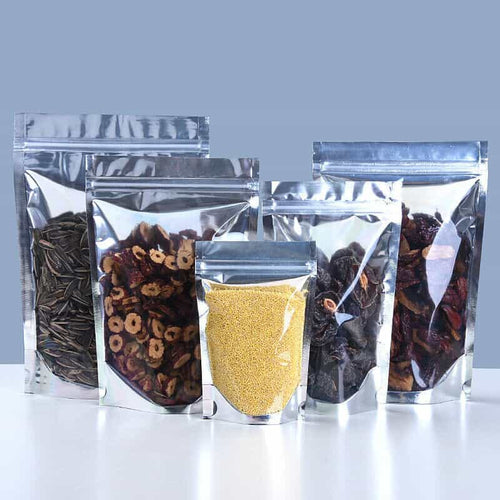 clear mylar smell proof bags