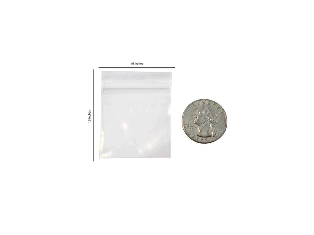 1515 apple mini ziplock bags
