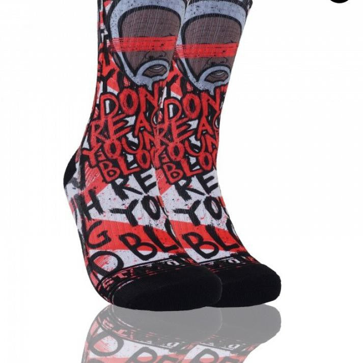 Kaos Kaki Olahraga Basket - Don't Reacth Young Blood - Stayhoops Socks