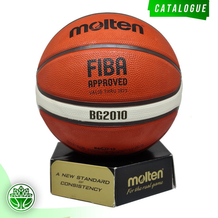 Bola Basket Molten B6G2010 (Rubber)(Outdoor) FIBA APPROVED (2019-2023)