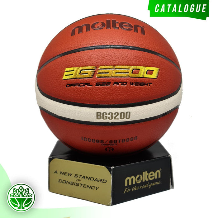 Bola Basket Molten B7G3200 (Indoor/Outdoor) FIBA APPROVED (2019-2023)