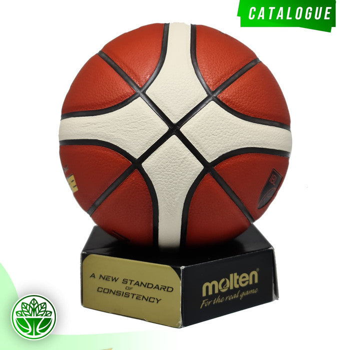 Bola Basket Molten B6G3200 (Indoor/Outdoor) FIBA APPROVED (2019-2023)