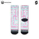 Kaos Kaki Olahraga Basket - Hodge Podge - Stayhoops Socks