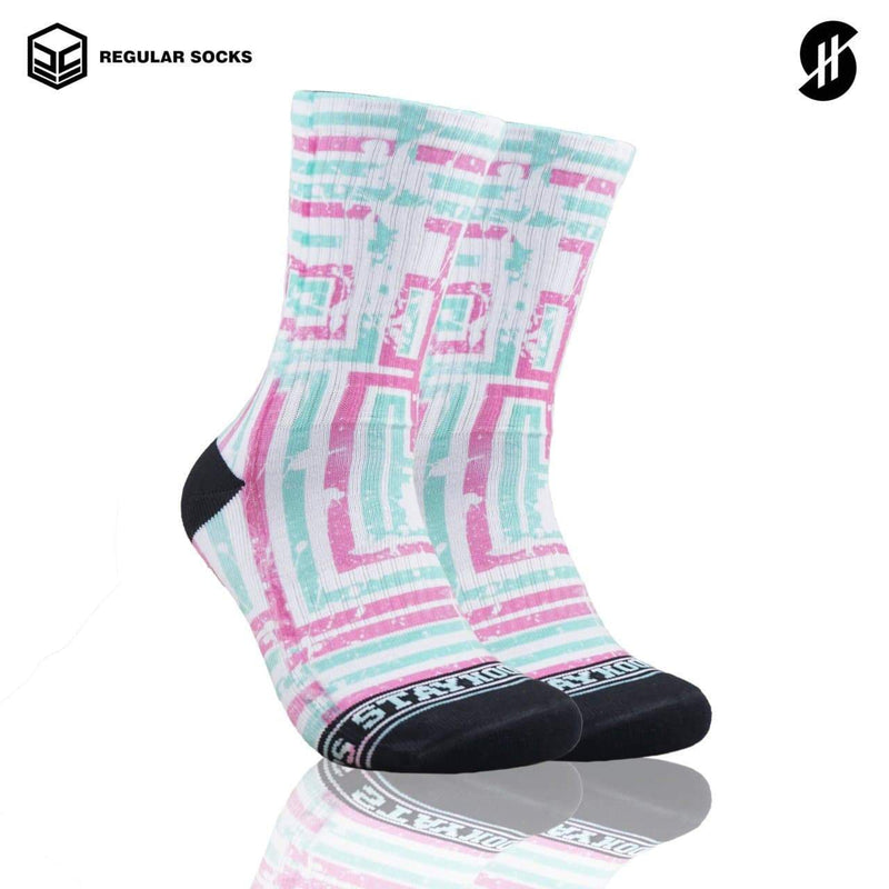 Kaos kaki olahraga basket Stayhoops socks - Hodge Podge