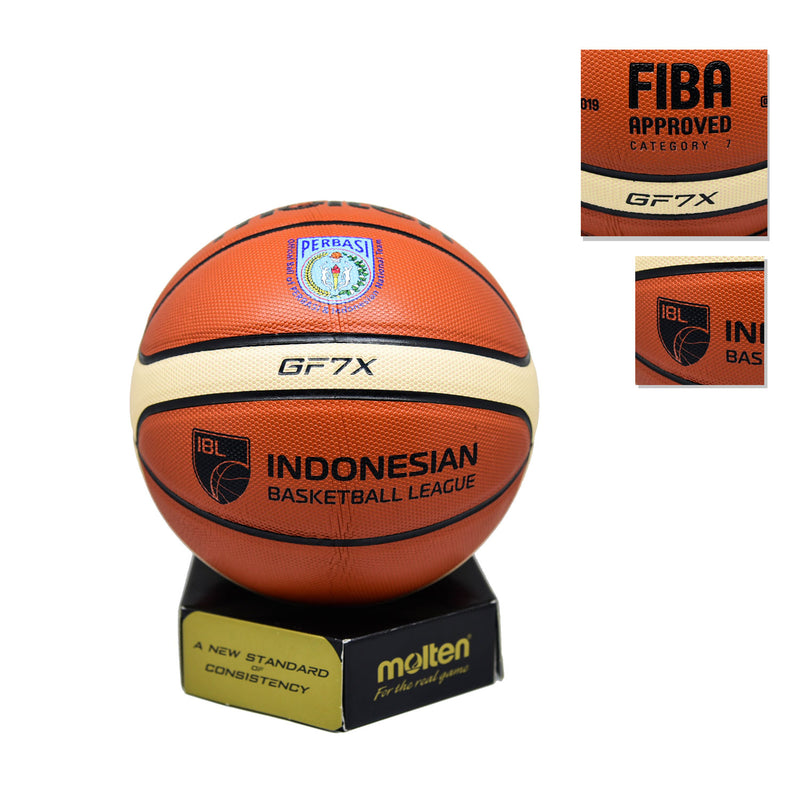 Bola Basket Molten GF7X ( Indoor / Outdoor ) FIBA APPROVED