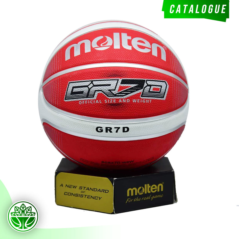 Bola Basket Molten GR7D Red ( Outdoor )