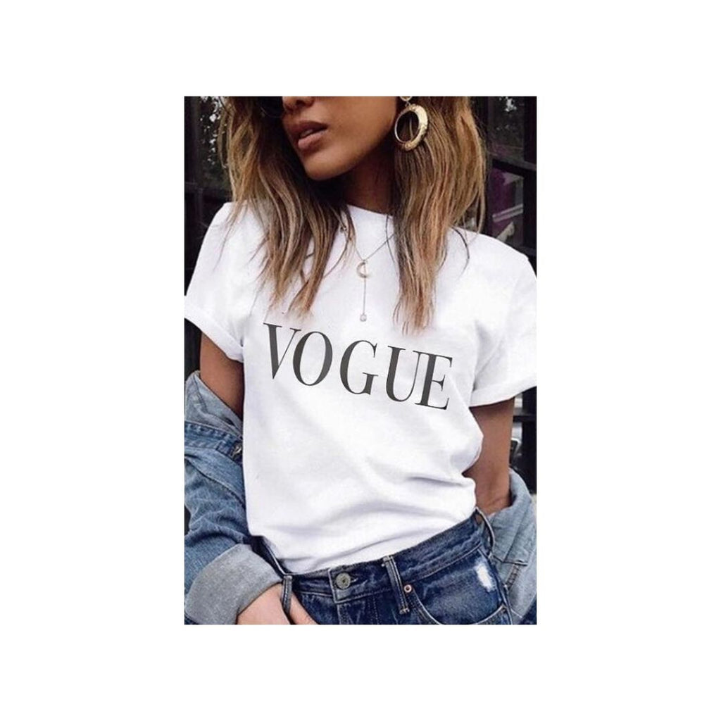 Tricou Vogue Alb
