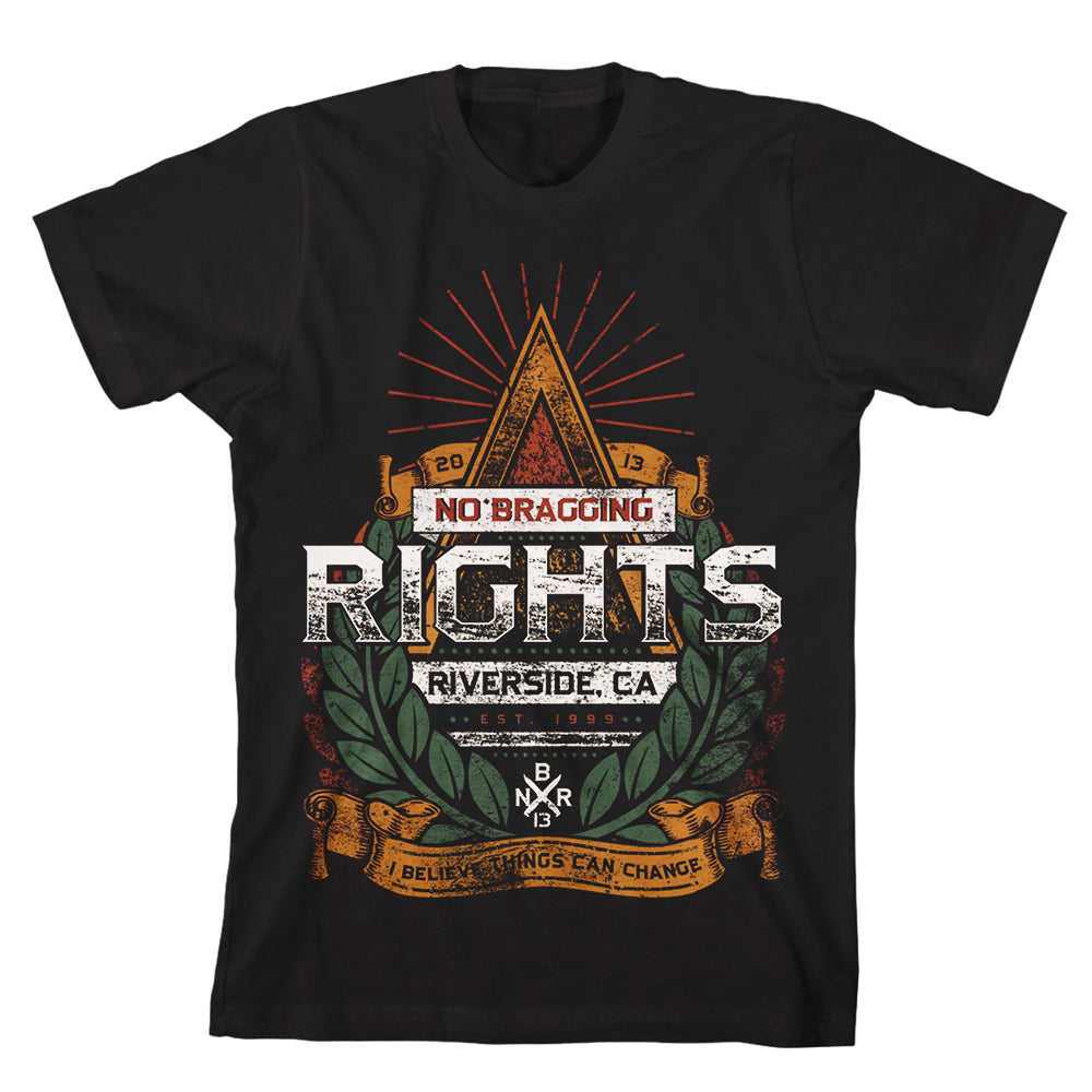 No Bragging Rights - Things Can Change (Black)