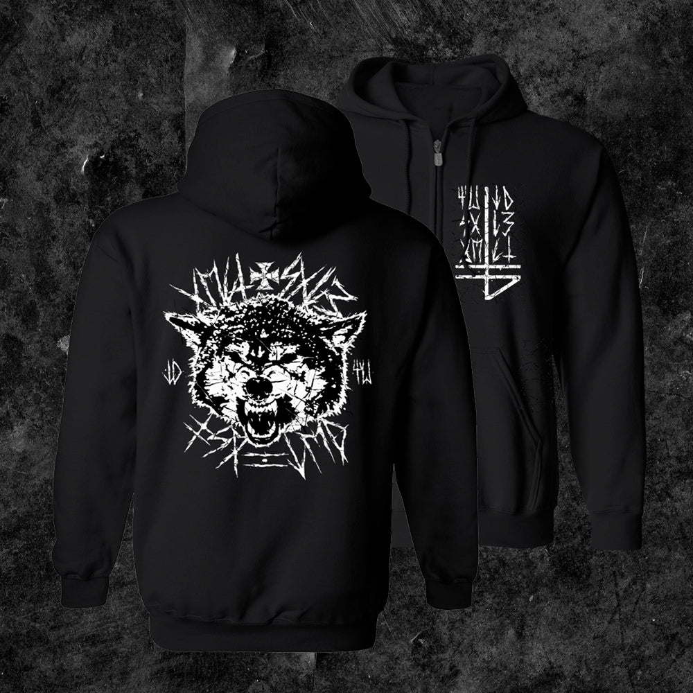 The Banner - Wolvesblood Hooded Zip Up