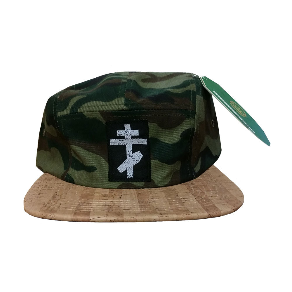 Great American Ghost Logo Camo 5-Panel Hat