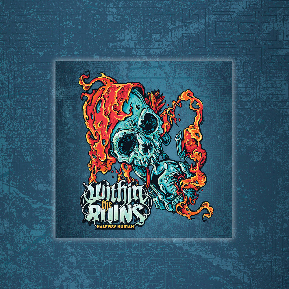 Within The Ruins - Halfway Human CD