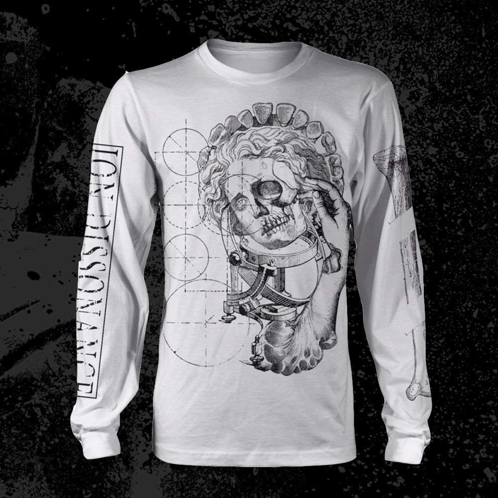 *Limited Stock* Ion Dissonance - Bones White Longsleeve