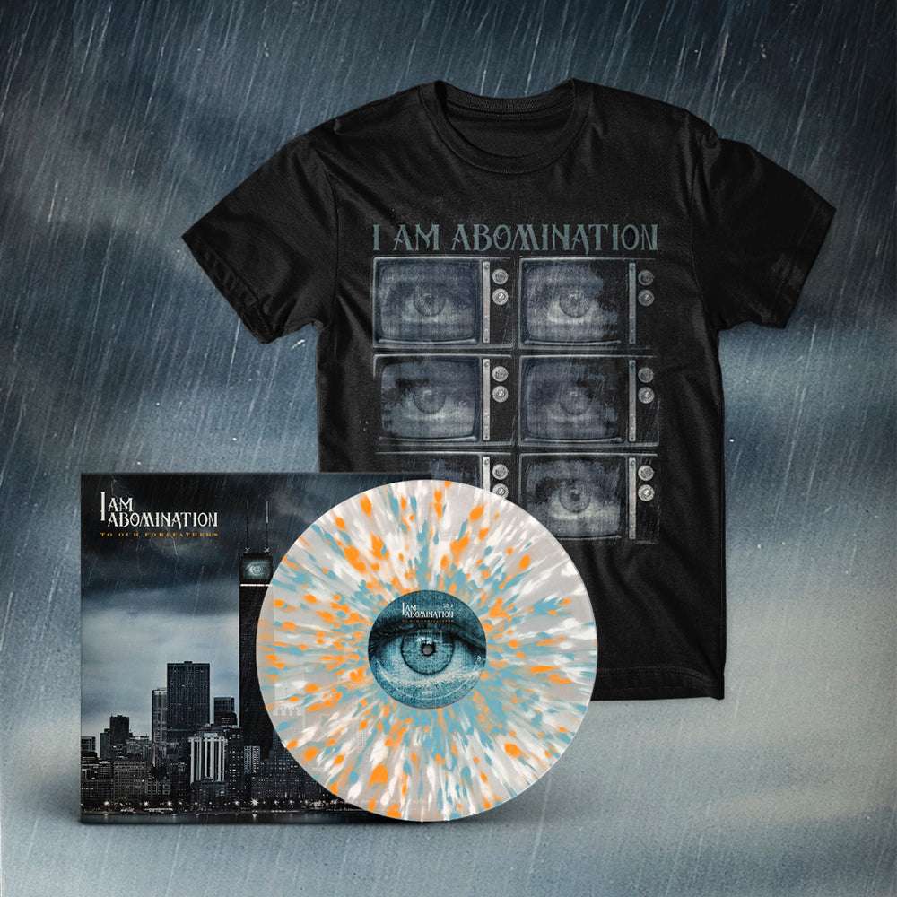 I Am Abomination - To Our Forefathers LP + TV Tee