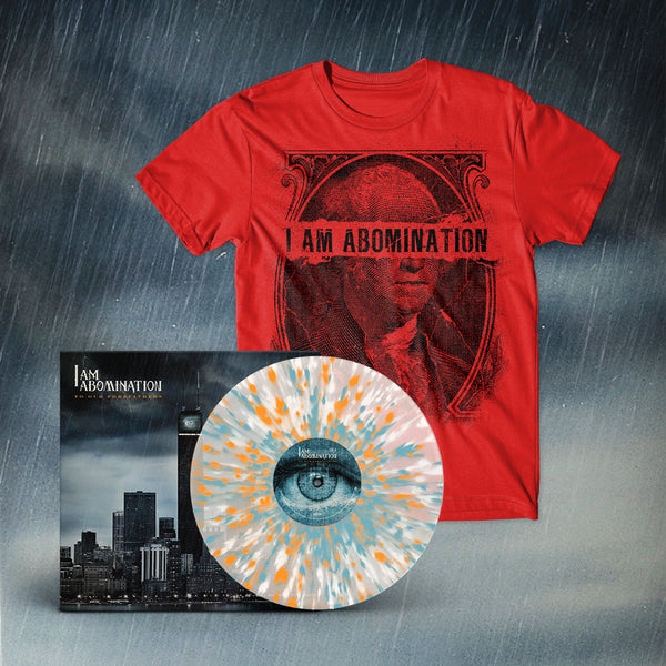 I Am Abomination - To Our Forefathers LP + Currency Tee