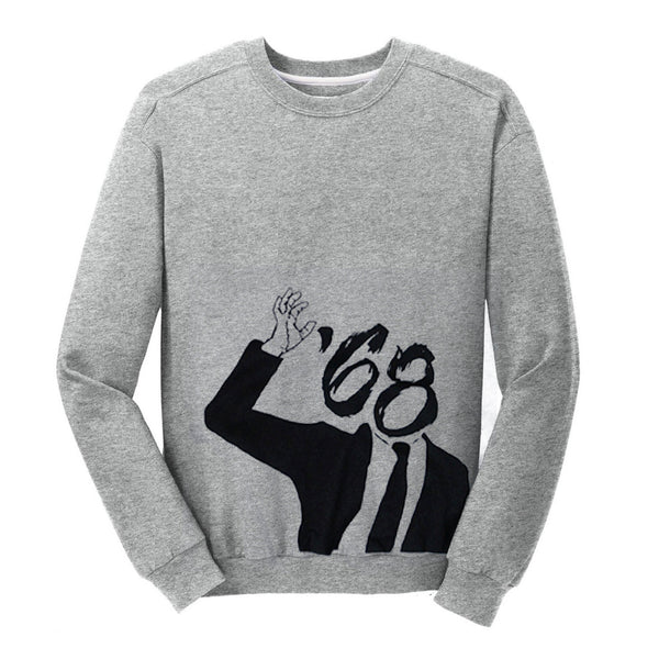 Business Man Heather Crewneck