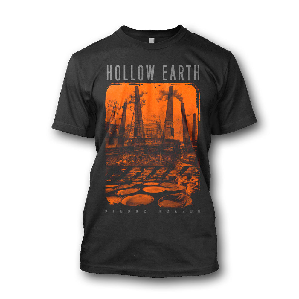 Hollow Earth - Silent Graves T-Shirt (Black)