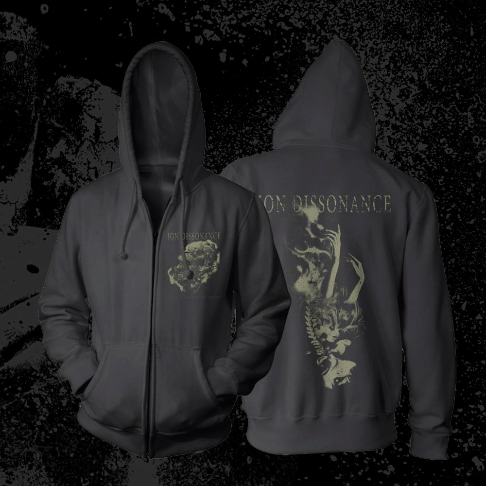 *Limited Stock* Ion Dissonance - Skeleton Girl Zip Up