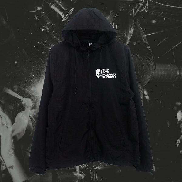 Long Live Skull Black Windbreaker