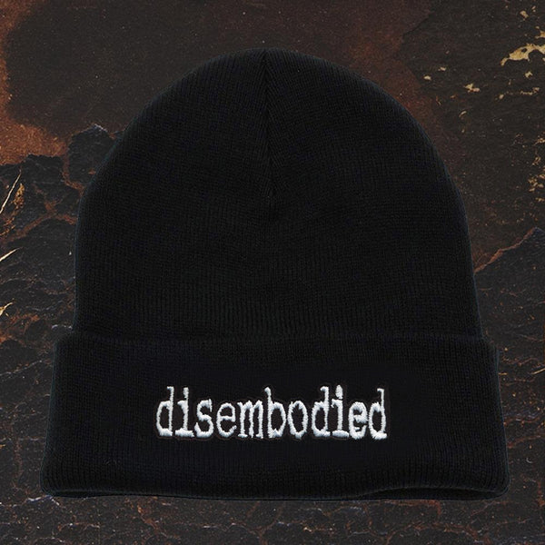 Disembodied - Logo Black Winter Beanie