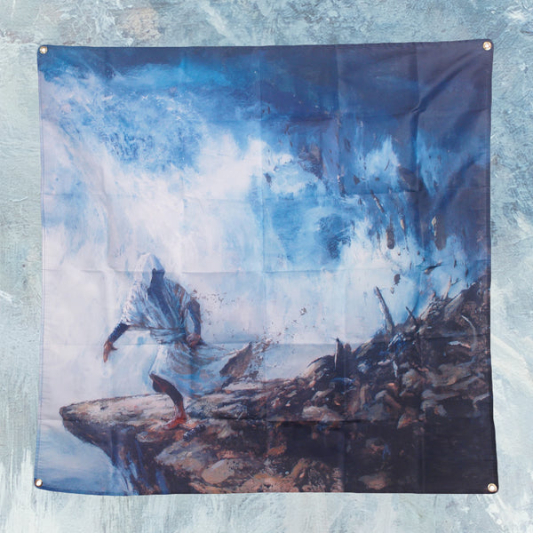 The Angel Of History Album 4' X 4' Wall Flag