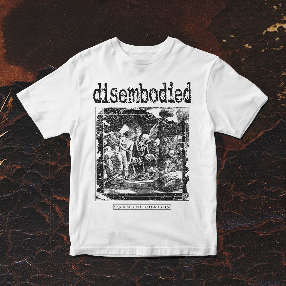 Disembodied - Transfiguration T-Shirt (White)