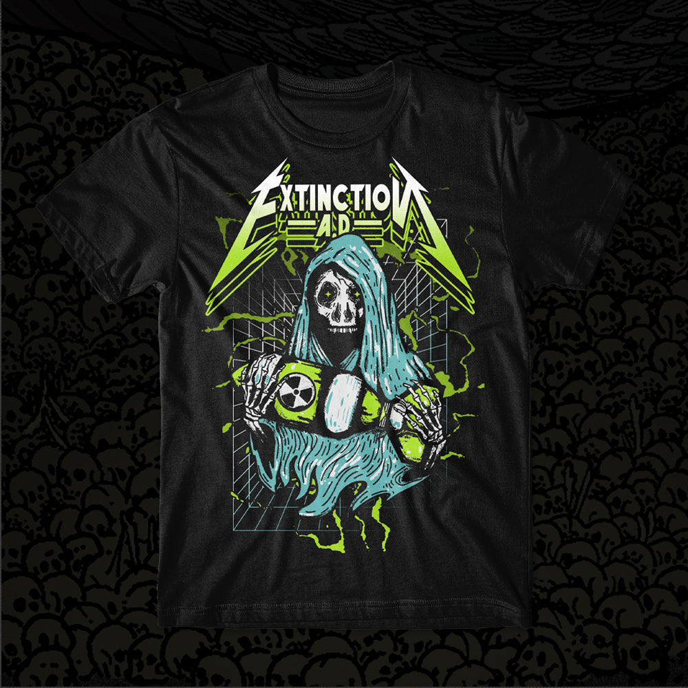 Extinction A.D. - Warhead Black T-Shirt