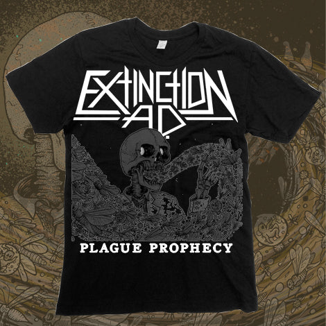 "Plague Prophecy Black T-Shirt ""Bargain Bin"""