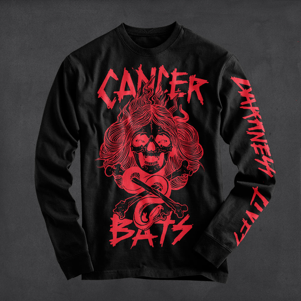 Cancer Bats - Darkness Lives Longsleeve