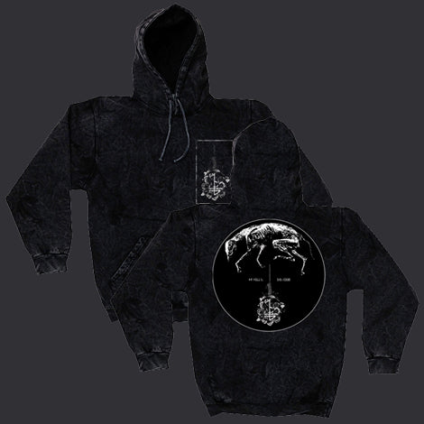 "Greying Mineral Black Hooded Pullover ""Bargain Bin"""