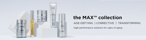 The MAX by IMAGE skincare designed for age prevention using plant stem cells and peptides