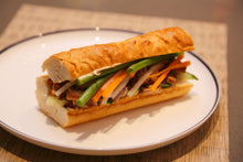 Load image into Gallery viewer, Slow Cooked Crispy Skin Pork Belly Banh Mi