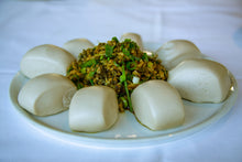 Load image into Gallery viewer, Sweet Potato Mantou with Pickled Cabbage Filling