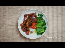 Load and play video in Gallery viewer, Braised Pork Knuckle Rice Bowl with Bok Choy