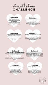 Share the Love Challenge